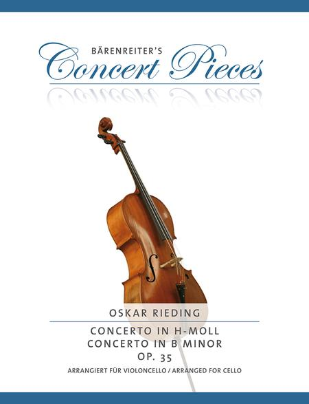 Concerto B minor op. 35 (Arranged for cello, transposed to D minor)