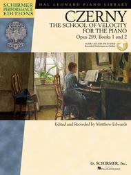 Carl Czerny - The School of Velocity for the Piano, Opus 299, Books 1 and 2