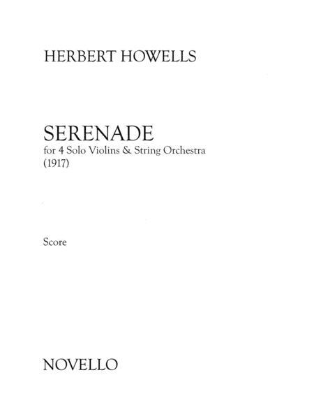 Serenade For 4 Solo Violins & String Orchestra