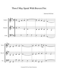 A Collection Of Hymns For String Trio book 2