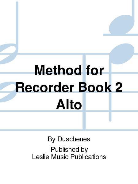 Method for Recorder Book 2 Alto