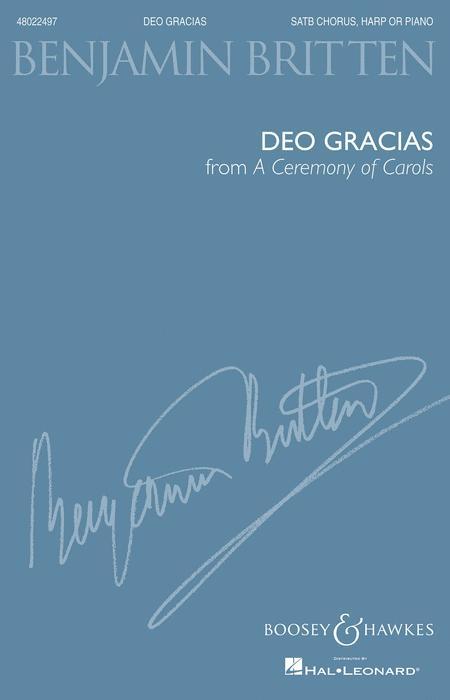 Deo Gracias (from A Ceremony of Carols)