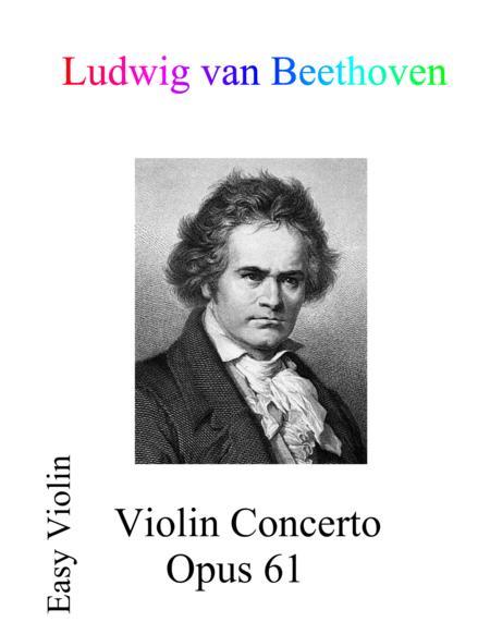 Beethoven Violin Concerto Op. 61