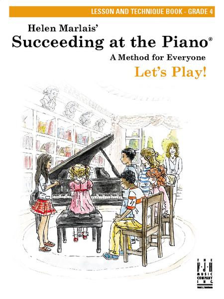 Succeeding at the Piano Lesson and Technique Book - Grade 4 (without CD)