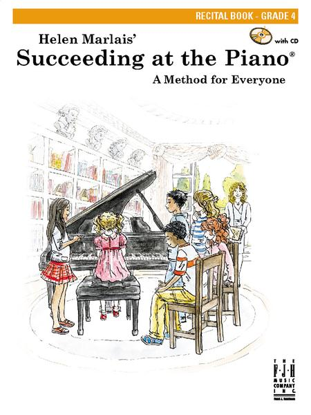 Succeeding at the Piano Recital Book - Grade 4
