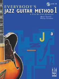 Everybody's Jazz Guitar Method 1 (with CD) (NFMC)