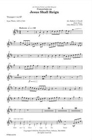 Concertato on Jesus Shall Reign (trumpet parts)