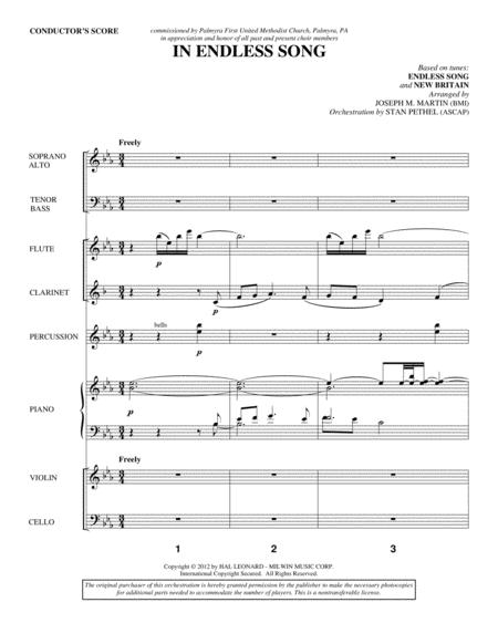In Endless Song - Score