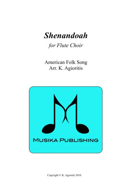 Shenandoah - for Flute Choir