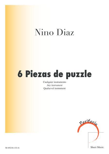 6 Piezas de puzzle