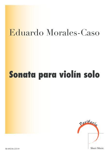 Sonata para violin solo