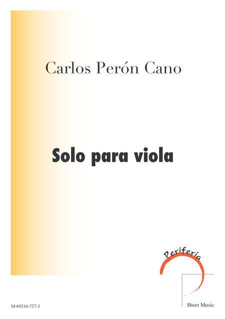Solo for Viola