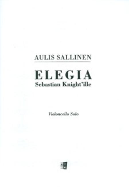 Elegie An Sebastian Knight