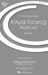 K'ayal Ta'arog (Psalm 42)