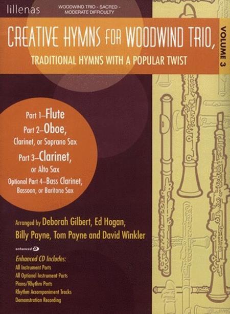 Creative Hymns for Woodwind Trio, Vol. 3