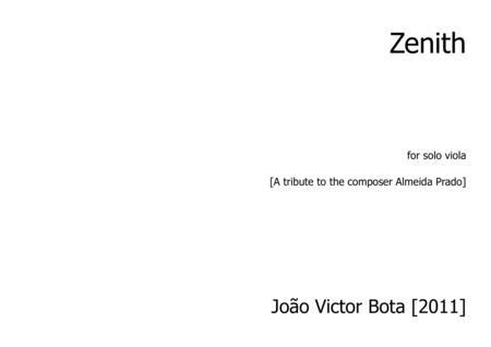 Zenith for solo viola