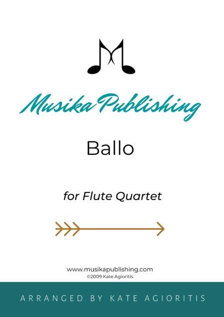 Ballo - for Flute Quartet