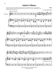 Classical Duets for Recorder & Piano:  Anitra's Dance