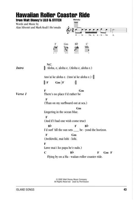 Download Hawaiian Roller Coaster Ride Sheet Music By Mark Keali\'i Ho ...