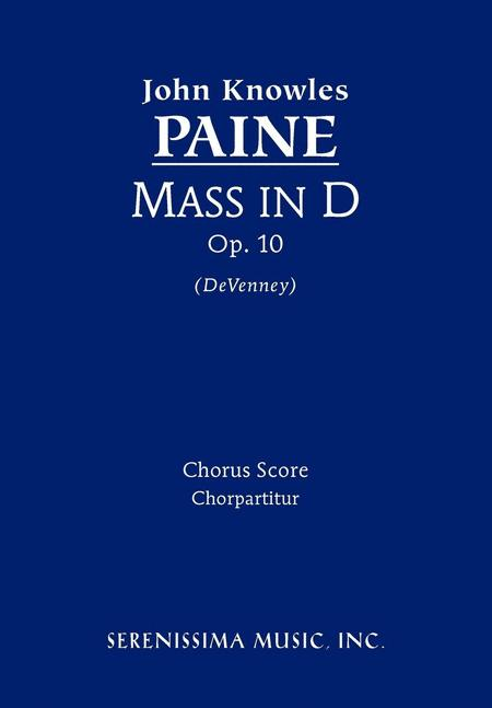 Mass in D, Op. 10