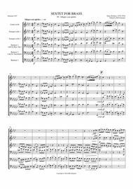 Brass Sextet: IV - Allegro Con Spirito