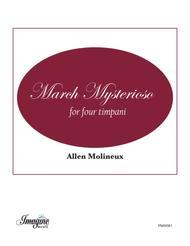 March Mysterioso for Four Timpani