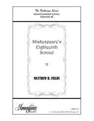 Shakespeare's Eighteenth Sonnet