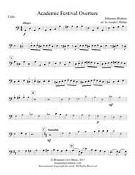 Academic Festival Overture-Cello part