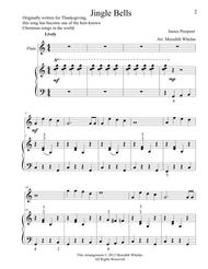 Christmas Duets for Flute & Piano:  Jingle Bells