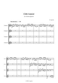 Celtic Lament - for Clarinet Quartet