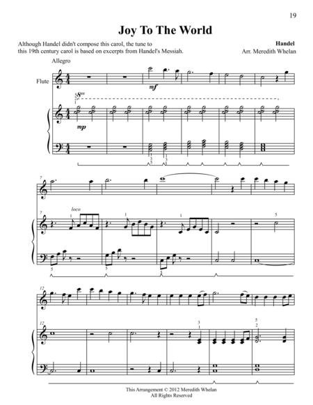 Christmas Duets for Violin & Piano:  Joy to the World