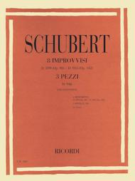 8 Impromptus, D. 899 (Op. 90) and D. 935 (Op. 142), and 3 Pieces, D. 946