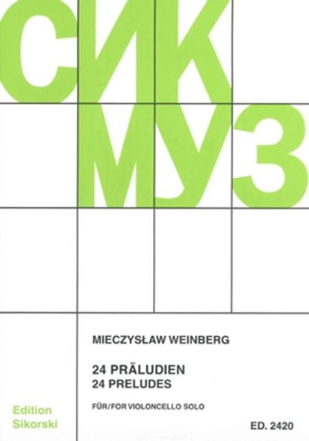 Mieczyslaw Weinberg - 24 Preludes