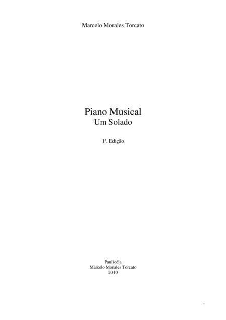 Piano Musical: Um Solado