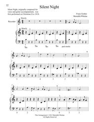 Christmas Duets for Recorder & Piano:  Silent Night