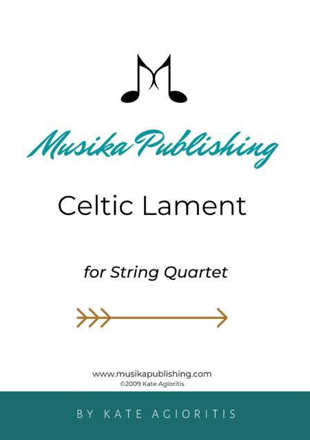 Celtic Lament - for String Quartet