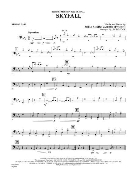 Skyfall - String Bass