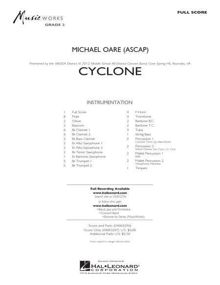 Cyclone - Full Score