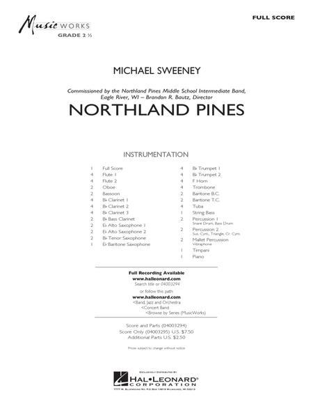 Northland Pines - Conductor Score (Full Score)