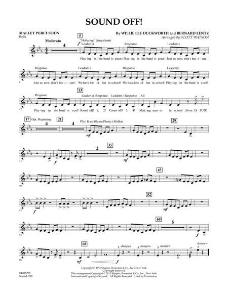 Sound Off - Mallet Percussion