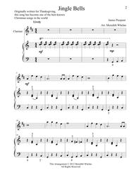 Christmas Duets for Clarinet & Piano:  Jingle Bells