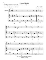 Christmas Duets for Clarinet & Piano:  Silent Night