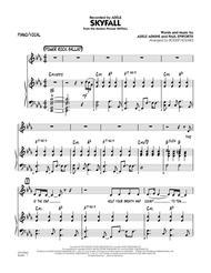 Skyfall - Piano/Vocal