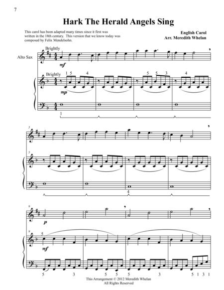 download christmas duets for alto saxophone piano hark the herald angels sing sheet music by. Black Bedroom Furniture Sets. Home Design Ideas