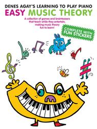 Learning To Play Piano Easy Music Sheet Music By Denes Agay