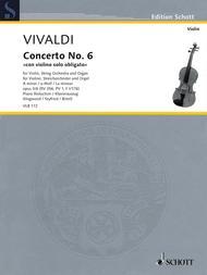 Concerto No. 6 con violino solo obligato A minor op. 3/6 RV 356, PV 1, F I/176