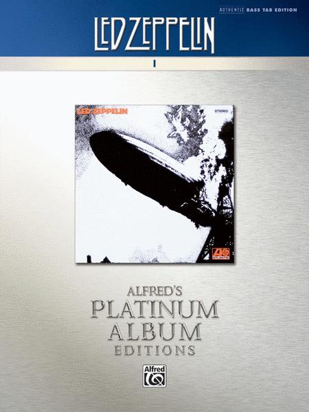 Led Zeppelin -- I Platinum Bass Guitar