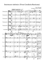 Intermezzo (From Cavalleria Rusticana) [Cello Quartet]