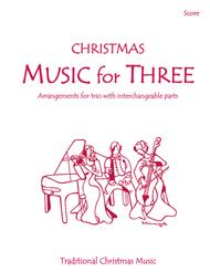 Music for Three, Christmas - Score 55199