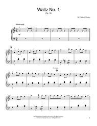 Waltz No. 1, Op. 18